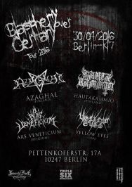 Blasphemy over Germany Tour 2016