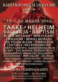 Barther Metal Open Air 2016