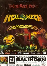 Gamma Ray und Helloween in Balingen 2013