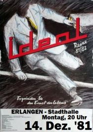 Ideal, Stadthalle Erlangen
