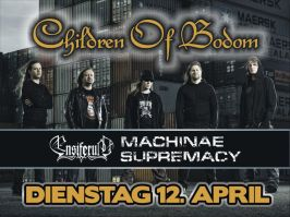 Machinae Supramacy, Ensiferum, Children of Bodom, Pratteln Z7